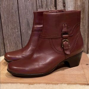 Clark's Ingalls Tweed Brown Bootie